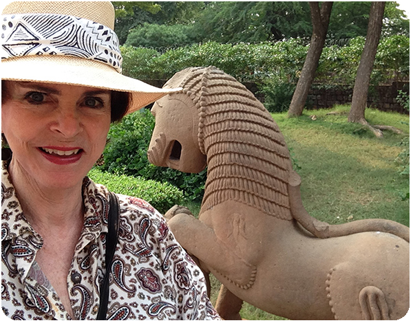 Judith Hand in India