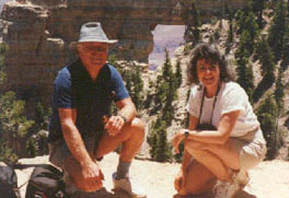 Judith Hand at the Grand Canyon